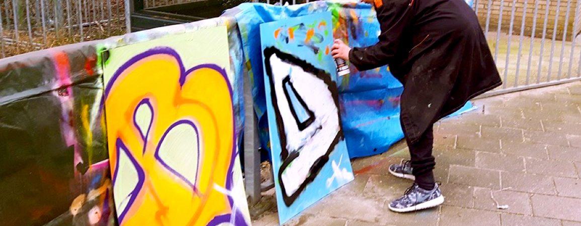 Workshop Graffiti tag