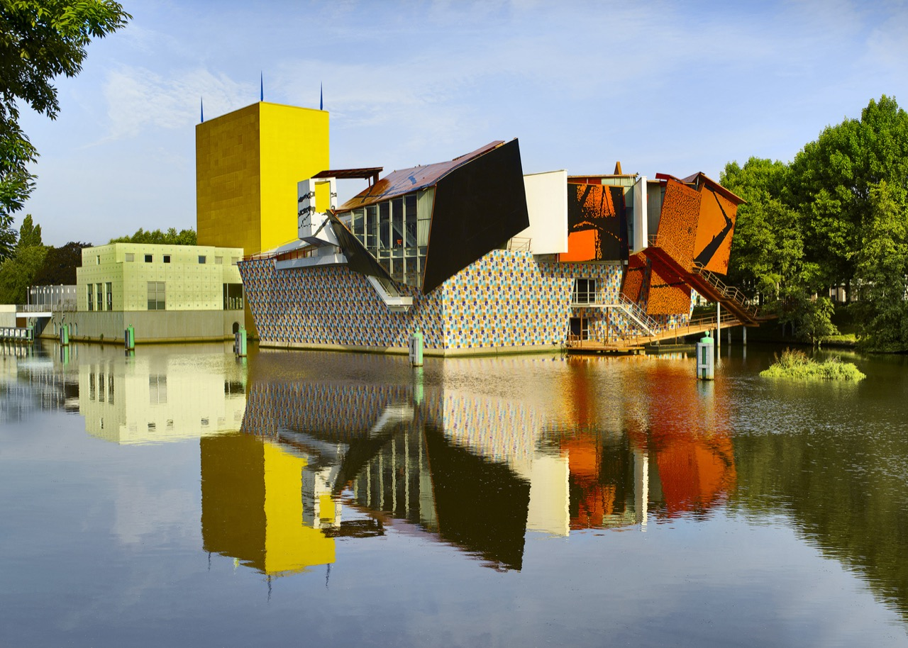 Groninger Museum tijdens de online CKV-dag